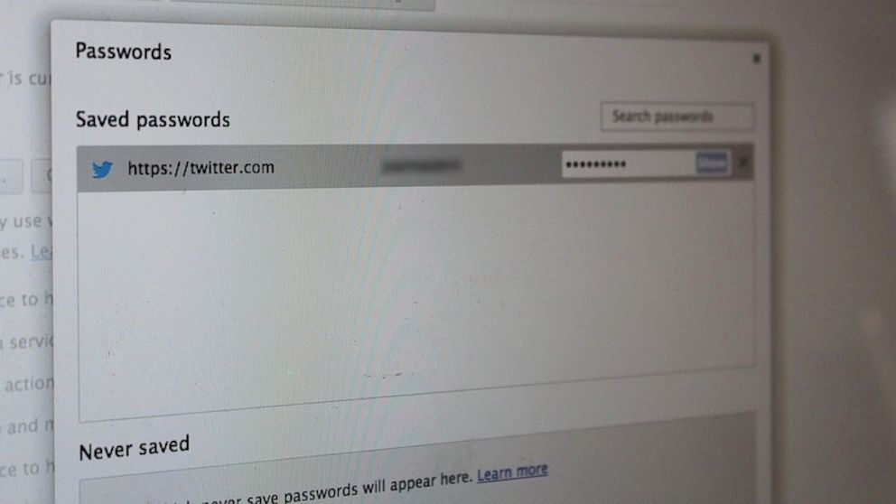 Chrome does not encrypt or protect saved passwords.