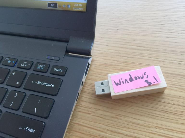 Create a backup Windows 8 installer (before it's too late)