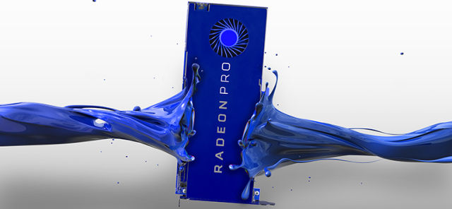 AMD unveils Radeon Pro SSG graphics card with up to 1TB of M.2 flash memory