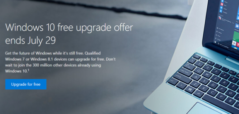 You have a deadline: Windows 10's free upgrade ends July 29