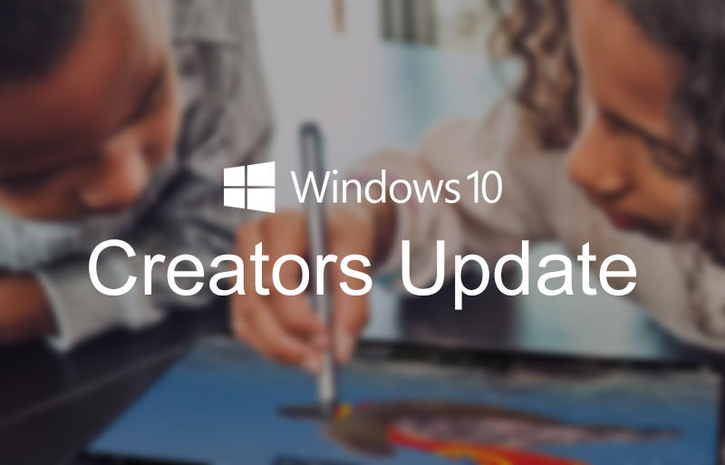 Windows 10 Creators Update – What's New
