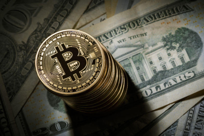 Bitcoin surges above $5,000