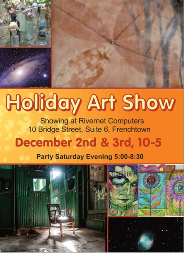 Holiday Art Show at River Net Computers