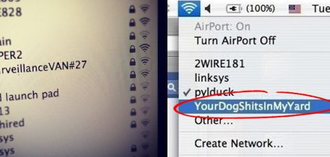 Are WiFi Network Names Protected by the First Amendment?