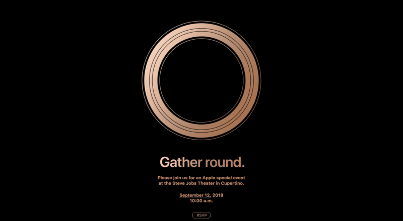 Apple announces September 12 event, and new iPhones are likely