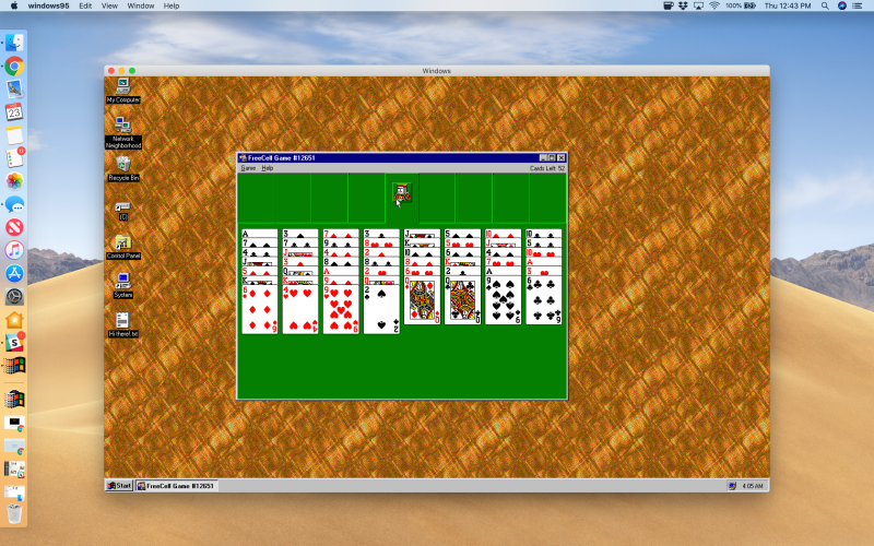 Did you love Windows 95? It's now a free app for macOS, Windows, Linux