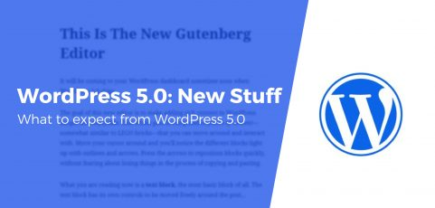 WordPress 5.0 – Everything is About to Change!