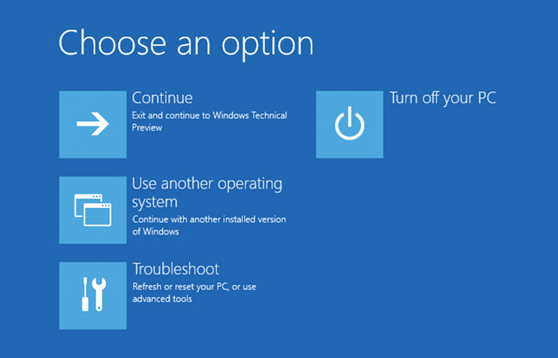 How to Access Windows 10 Boot Options Menu (6 Ways)