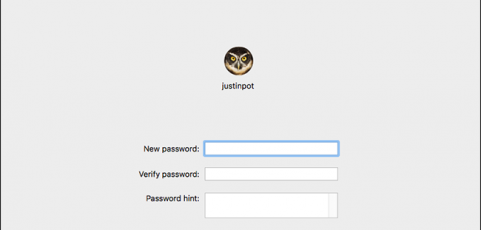 How to Reset Mac User Account Password