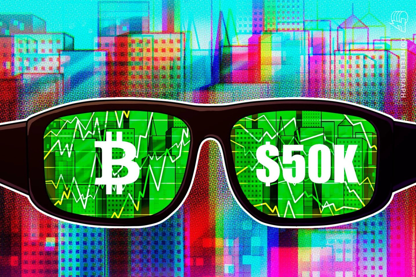 Bitcoin blasts past $50k