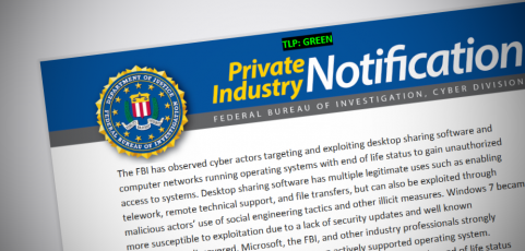 FBI warns about using TeamViewer and Windows 7