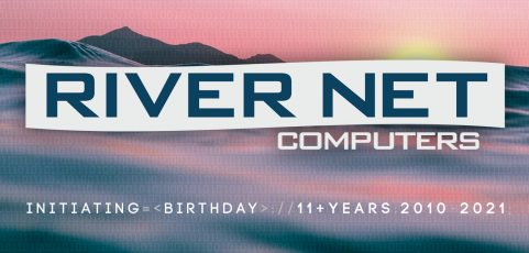 Happy Birthday To Us! River Net Turns 11 Years Old.